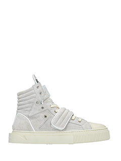 Gienchi-Sneakers Hypnos in camoscio grigio