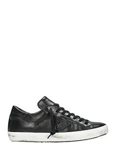 Philippe Model-Sneakers Classic in pelle nera