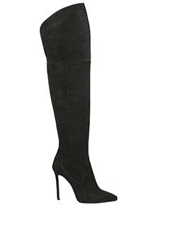 Marc Ellis-Stivali in camoscio  nero