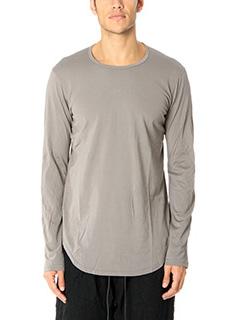 Attachment-T-Shirt M L in cotone grigio