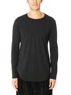 Attachment-T-Shirt M L in cotone nero