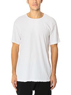 Attachment-T-Shirt in cotone bianco
