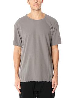 Attachment-T-Shirt in cotone grigio