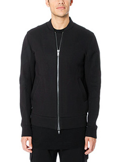 Helmut Lang-Bomber in cotone nero