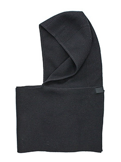 Helmut Lang-Sciarpa Two in one Hat Scarf in wool cashmere grigio
