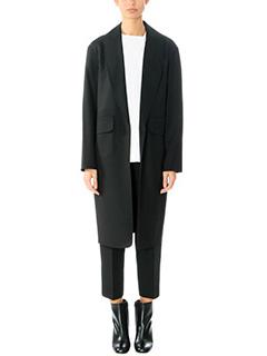 Alexander Wang-Cappotto Shawl Collar Blazer in lana nera