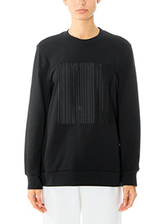 Alexander Wang-black cotton sweatshirt