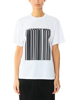 Alexander Wang-T-Shirt Boxy in cotone nero