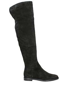 Lerre-Stivali in camoscio nero