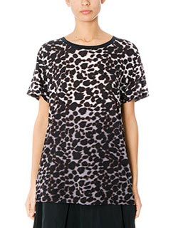 Marc Jacobs-T-Shirt Skater Tee in jersey animalier
