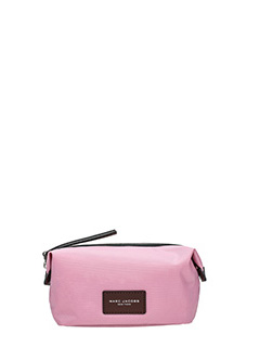 Marc Jacobs-Landscape pink nylon beauty case