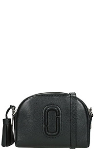 Marc Jacobs-Borsa Small Shutter in pelle nera