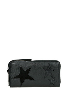 Marc Jacobs-Portafoglio Continental in pelle nera