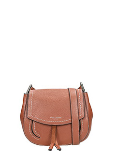 Marc Jacobs-Borsa  Mini Maverick Shoulder in pelle cognac