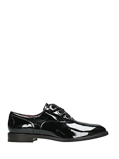 Marc Jacobs-Stringate Helena Oxford in vernice nera