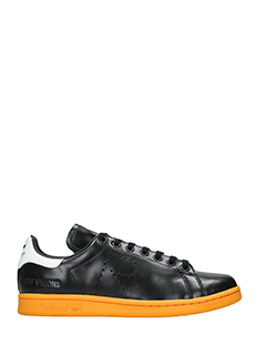 Adidas By Raf Simons-Stan smith black leather sneakers
