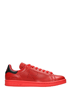 Adidas By Raf Simons-Sneakers Stan Smith in pelle rossa