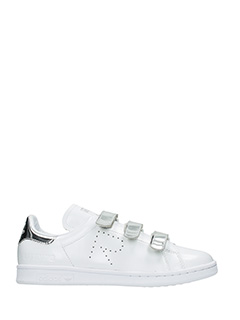 Adidas By Raf Simons-Sneakers Stan Smith Comfort in pelle bianca argento