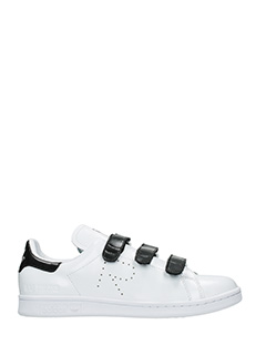 Adidas By Raf Simons-Sneakers Stan Smith Comfort in pelle bianca nera