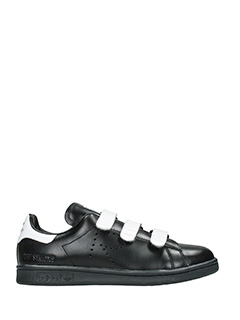 Adidas By Raf Simons-Sneakers Stan Smith Comfort in pelle nera bianca