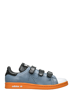 Adidas By Raf Simons-Sneakers Stan Smith Comfort in pelle grigia nera
