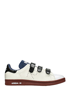 Adidas By Raf Simons-Stan smit comfo beige leather sneakers
