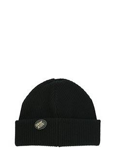 Golden Goose Deluxe Brand-Cappello Steaphan  in lana nera