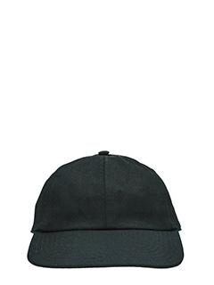 Vetements-Cappello in cotone nero