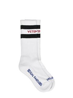 Vetements-white cotton socks