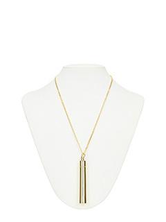 Vetements-Collana Pendant in ottone oro
