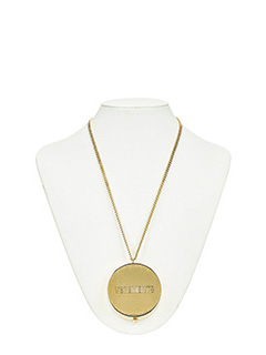 Vetements-gold metal alloy jewel