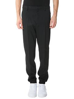 Kenzo-Pantaloni Suit Jogging in cotone nero