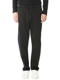 Golden Goose Deluxe Brand-Pantaloni Tecno Haus in cotone nero