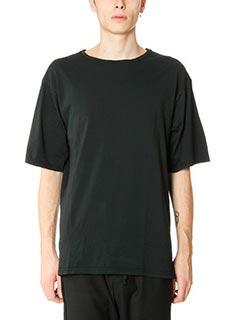 DonVich-T-Shirt Usa in cotone nero