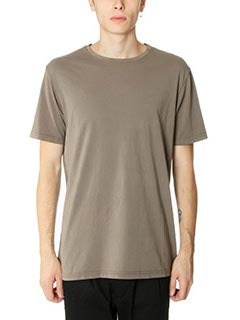 DonVich-T-Shirt Basik in cotone taupe