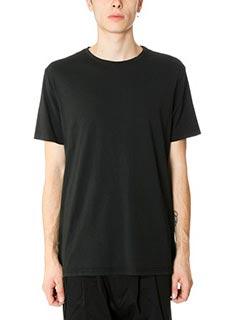 DonVich-T-Shirt Basik in cotone nero