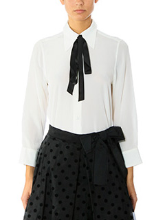 Marc Jacobs-Camicia Button Down in seta bianca