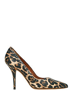 Givenchy-Elegant Pump Animalier leather pumps