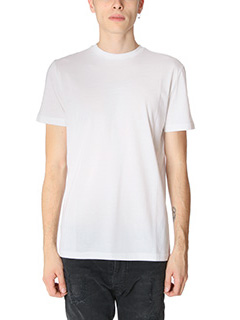 Low Brand-T-Shirt B39 in cotone bianco