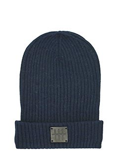 Low Brand-Cappello in lana blu