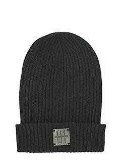 Low Brand-Cappello in lana nera