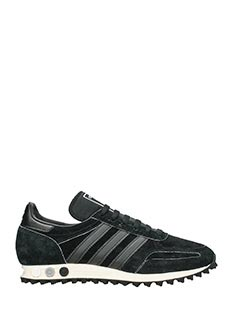 Adidas-Sneakers  La Trainer Og in camoscio nero