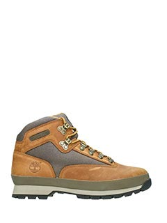 Timberland-Anfibi Hiker F/L in pelle cuoio