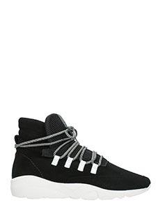 Casbia-Sneakers Daze in camoscio nero