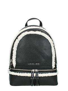 Michael Kors-Md Backpack black leather backpack
