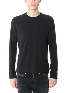 James Perse-Maglia in cotone nero