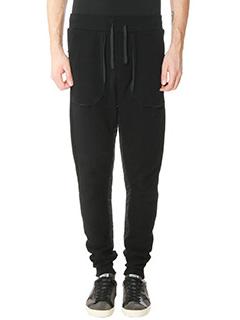 Golden Goose Deluxe Brand-Pantaloni Jogging Pant in cotone e nylon nero