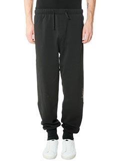 Golden Goose Deluxe Brand-Pantaloni Jogging Basic Haus in cotone nero
