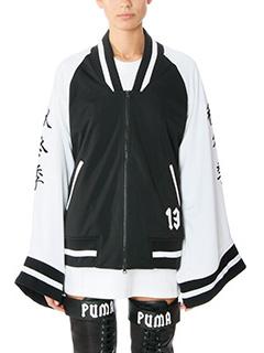 Puma-black cotton sweatshirt