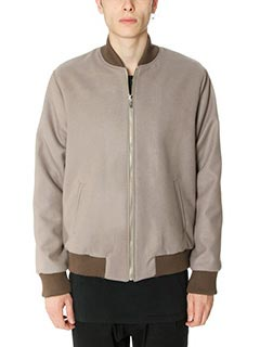 DonVich-Bomber Lux in lana taupe